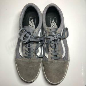 VANS OLD SKOOL PRO SKATE SHOES - gray